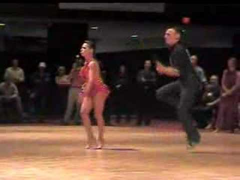 2005 USABDA Nationals Champ Latin Dance-On