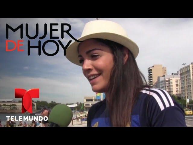iVillage Mujer / Fiorella: una argentina que domina el balón en tacones