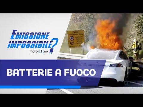 Sono pericolose le BATTERIE delle auto elettriche?