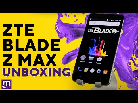 ZTE Blade Z MAX Unboxing | MetroPCS | Product Review