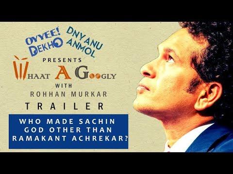 Whaat A Googly | With Rohhan Murkar | Cricket SHow | Episode 1  | Trailer