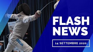 TG FLASH - 14 settembre