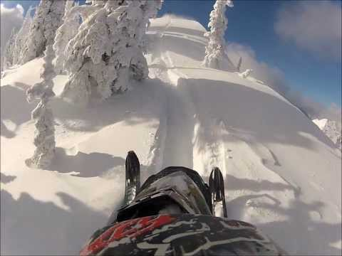 Northwest Montana Sledding-2011 Ski Doo XP-GoPro Hero2