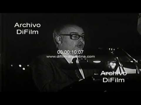 DiFilm - Juan Alemann en almuerzo del Rotary Club de Buenos Aires 1977