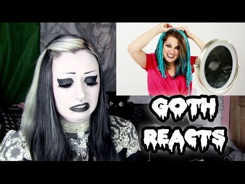 Goth Reacts To Women Try Goth Fashion For A Week | Toxic Tears