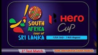 Sri Lanka vs South Africa 2018, 1st Test - Day 1