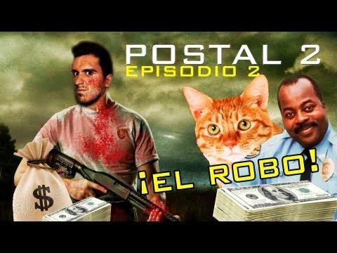 ENSÉÑAME LA PASTA!! - El Robo al Banco - Postal 2 - Ep. 2