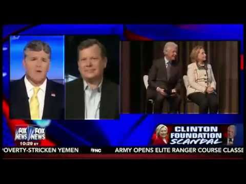 Peter Schweizer on Hannity to Talk Clinton Email and Foundation Scandal