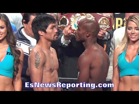 MANNY PACQUIAO VS TIMOTHY BRADLEY FACE OFF - EsNews Boxing