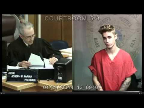 Justin Bieber Court VIDEO | Justin Bieber Arrested DUI & Drag Racing Reaction