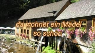Die Mühle im Schwarzwälder Tal (mit Text/Lyrics zum Mitsingen)
