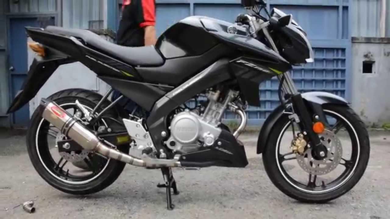 Ahm Exhaust M2 Series On Yamaha Fz150 Vixion 150 Youtube