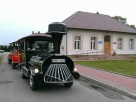 """Ciuchcia """"Strzała Południa"""" W Gminie Ostrów [www.gminaostrow.eu]"""
