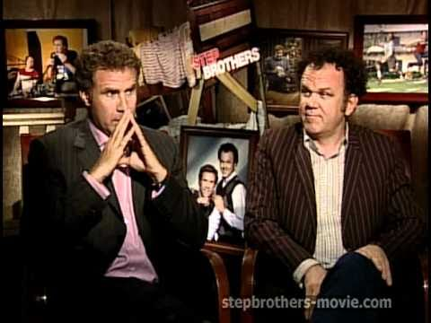 Step Brothers - Interviews With Will Ferrell And John C. Reilly And Mary Steenburgen