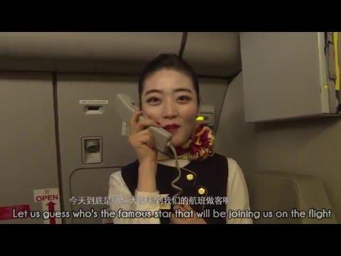 Lang Lang's concert on Hainan Airlines airlane!