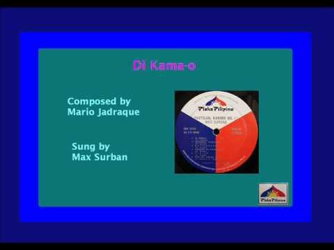 Max Surban - Di Kamao (High Quality)