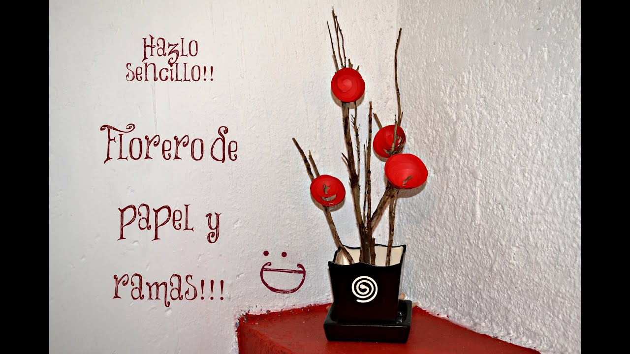 Arreglo floral sencillo youtube - Arreglos florales artificiales centros de mesa ...