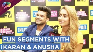 Karan Kundra And Anusha Dandekar Share About Their Fantasies | Love, Lust & Relationships