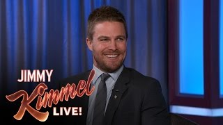 Stephen Amell on Being a Guest on Kimmel