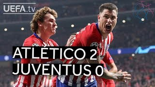 ATLÉTICO 2-0 JUVENTUS #UCL HIGHLIGHTS