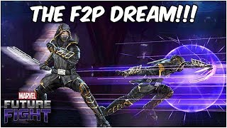 HAWKEYE GETS EPIC JUSTICE AS RONIN!! (Endgame Update) - Marvel Future Fight