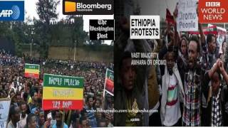 International Media on Amhara and Oromo Protests