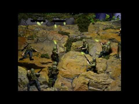 G.I. JOE DIORAMA STORY : COBRA ATTACKS EPISODE IV MEET THE JOES PART II