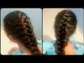 Easy & Cute French Braid Hairstyle | सागर वेणी