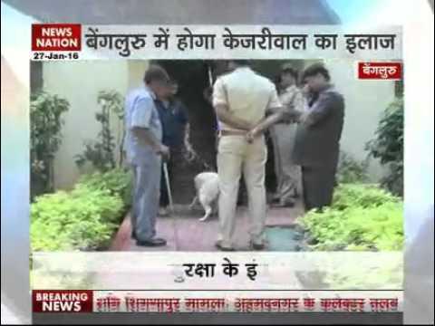Kejriwal's naturopathy treatment in Bengaluru