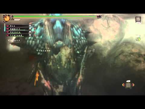 MH3U High Rank Online Quests 9 - Lagiacrus