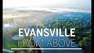 Evansville From Above