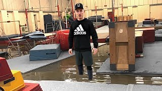 OUR NEW GYM FLOODED! | Nile Wilson Gymnastics