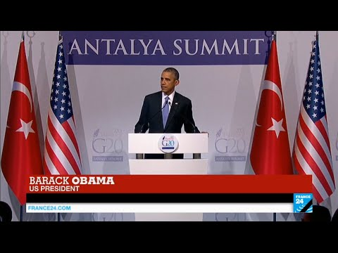 Paris Attacks: US President Barack Obama holds press conference on fight against IS group
