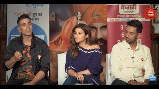 Film 'Kesari' Starcast Exclusive Interview | Akshay Kumar | Parineeti Chopra | Anurag Singh