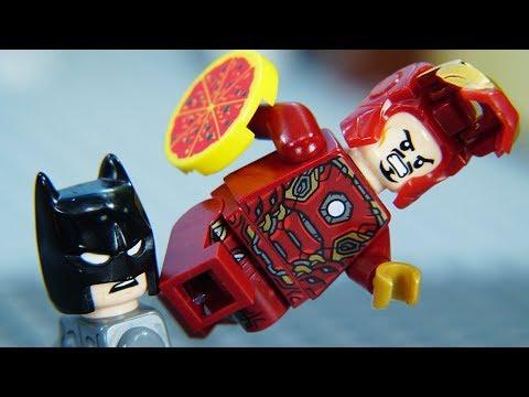 Lego Superhero Ironman vs Batman Final Episode