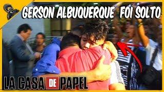 GERSON ALBUQUERQUE E YOUTUBERS SAIRAM DA PRISÃO - LIBERDADE