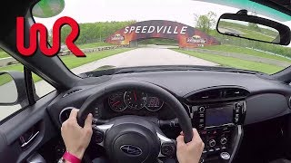 2017 Subaru BRZ Performance Package - POV Track Review (Road America)