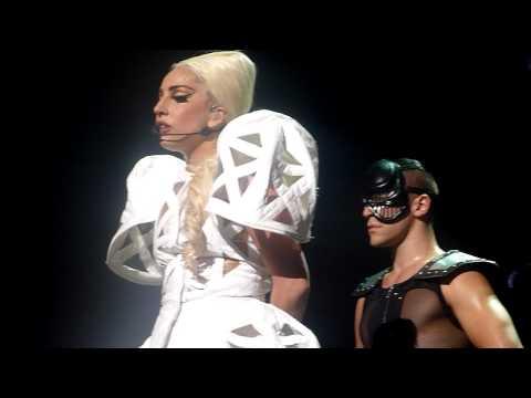 Lady Gaga - Judas + Speech [The Born This Way Ball @ Ericsson Globe - Sweden, 30/8, 2012] HD