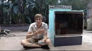 Turn an old Oven into a Kiln