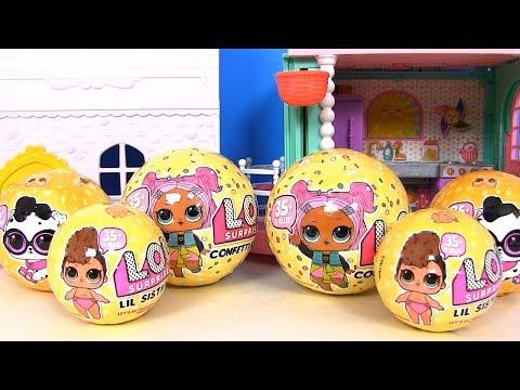 Собираем семью ЛОЛ LOL Surprise ЛОЛ 3 Серия! Видео для детей! Распаковка сюрпризов! Игрушки