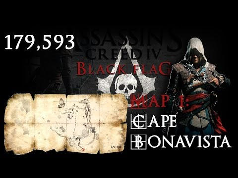 Assassins Creed 4 Black Flag: Treasure Location 179.593 - Xbox One