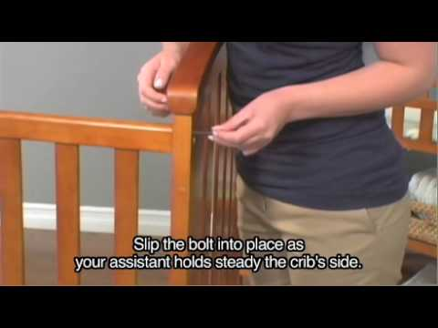 Delta Duval Crib Assembly Instructions Youtube
