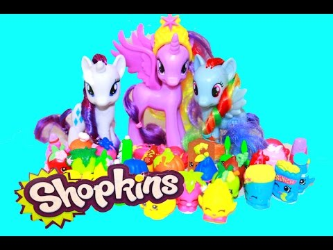 AllToyCollector Shopkins Opening MLP Princess Twilight Sparkle My Little Pony FROZEN Anna