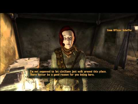 Fallout New Vegas Return to Sender part 1 of 5 Reyes and Stations Delta and Alpha