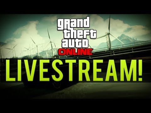 LIVE! GTA ONLINE RANK 100 TANK & BUZZARD HELI FUN & MUCH MORE (GTA5)