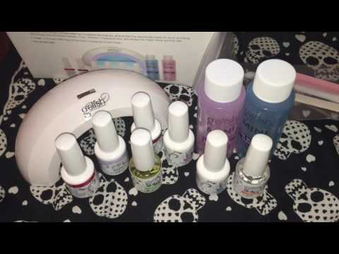 Gelish Mini Complete Starter Kit Gel Nail Demo and Review!!!