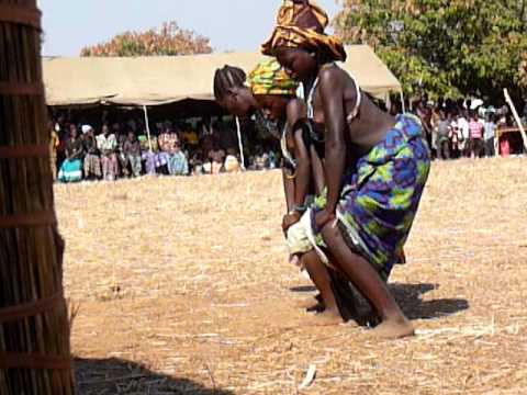 A pubescent girl's coming-out dance among the Nkoya people of Zambia
