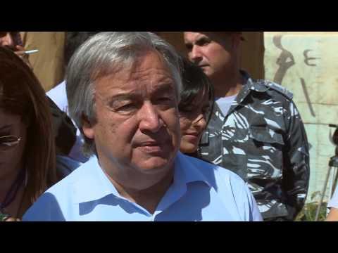 Lebanon: UN Agency Chiefs Visit Bekaa Refugees