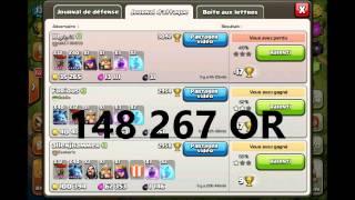 Clash of Clans - Préparation vidéo 20 000 ABONNÉS !