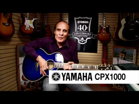 Yamaha CPX1000 Acoustic Electric Guitar At Hammond Organ World